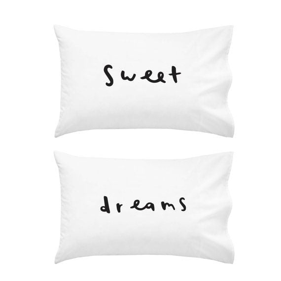 Sweet Dreams Pillowcase Set - littleweddingstore.co.nz