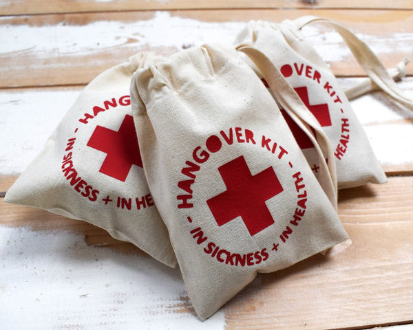 Hangover Kit - littleweddingstore.co.nz