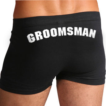 Groomsman Boxers / Wedding Underwear - littleweddingstore.co.nz