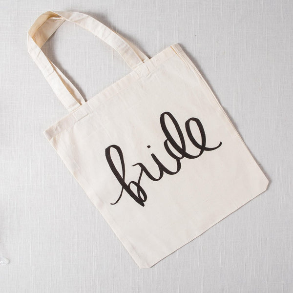 Bride Tote Bag - littleweddingstore.co.nz