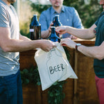 Beer Tote Bags - littleweddingstore.co.nz