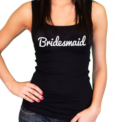 Bridesmaid Tank Top / Singlet - littleweddingstore.co.nz