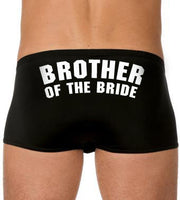 Brother of the Bride Boxers - littleweddingstore.co.nz
