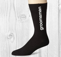 Bestman Socks - littleweddingstore.co.nz