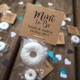 Custom Mint To Be Favours - littleweddingstore.co.nz