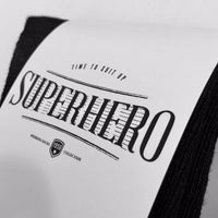 Superhero Socks Personalised Custom Superhero Socks - littleweddingstore.co.nz