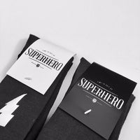 Superhero Socks Groom Socks Bestman Groomsmen - littleweddingstore.co.nz
