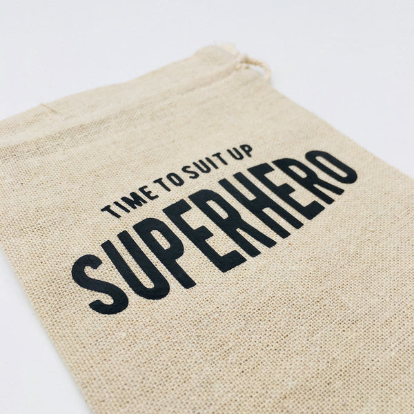 Superhero Bag Gift Bag - littleweddingstore.co.nz