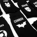 Superhero Socks Personalised Custom Superhero Socks