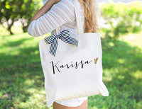 Personalised Bridesmaid Totes - littleweddingstore.co.nz