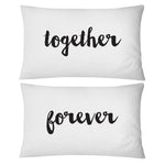 Together Forever Pillowcase Set - littleweddingstore.co.nz