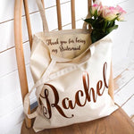 Custom Bridesmaid Tote Bags - littleweddingstore.co.nz