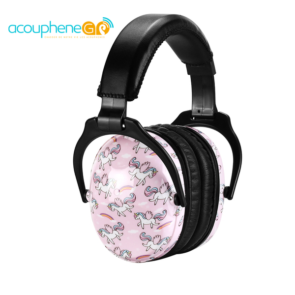 casque annulation bruit prevention hyperacousie et acouphene licorne