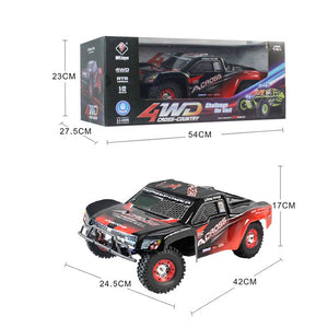 WLtoys 12423 1 : 12 Full Scale 2.4GHz Climbing Buggy with Bright LED Light - Red with Black