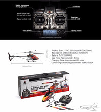 Load image into Gallery viewer, V913 Brushless Version 2.4G 4CH RC Helicopter