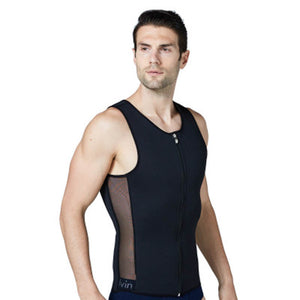 Men's Neoprene Sweating Body Shaping Vest Breathable Abdomen Underwear