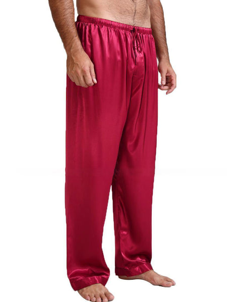 Casual Loose Men's Sleepwear Solid Color Loungewear