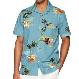 Men's Fashion Hawaiian Short-Sleeved Beach Shirts