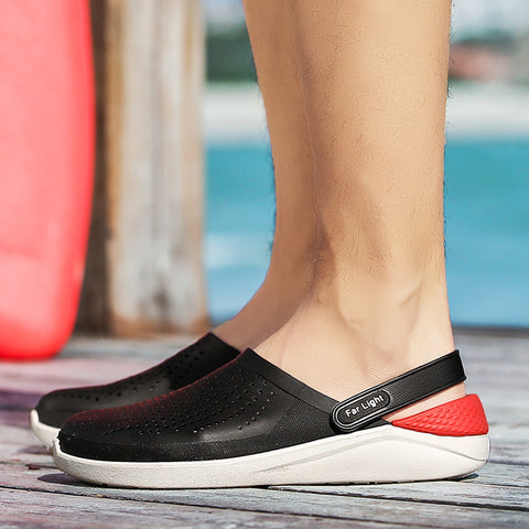 Closed Toe Sandals Unisex Plus Size Summer Water Shoes