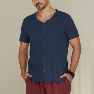 Plus Sizes M-5XL Men's Fashion Comfort Linen Casual T-shirts