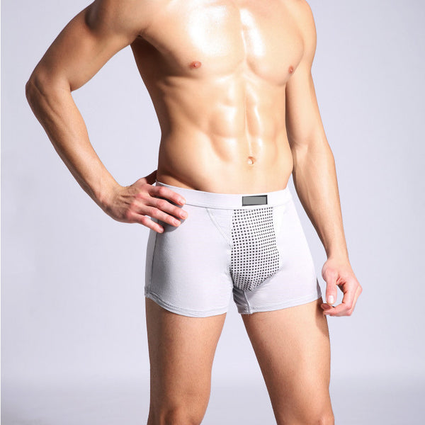 Men's 52 Magnets Breathable U Convex   Magnetotherapy Healthcare Briefs