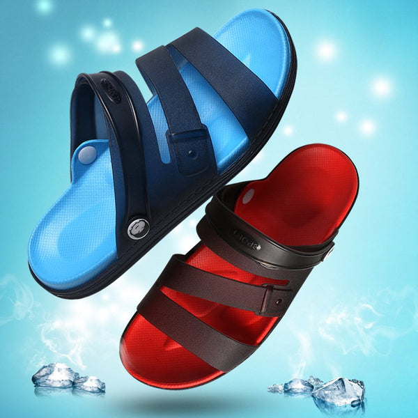 Mens Slippers Slide Sandals Comfy Soft Water Casual Beach Water Shoes