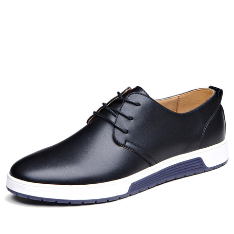 Spring/fall Casual Artificial Leather Lace-up PU Shoes