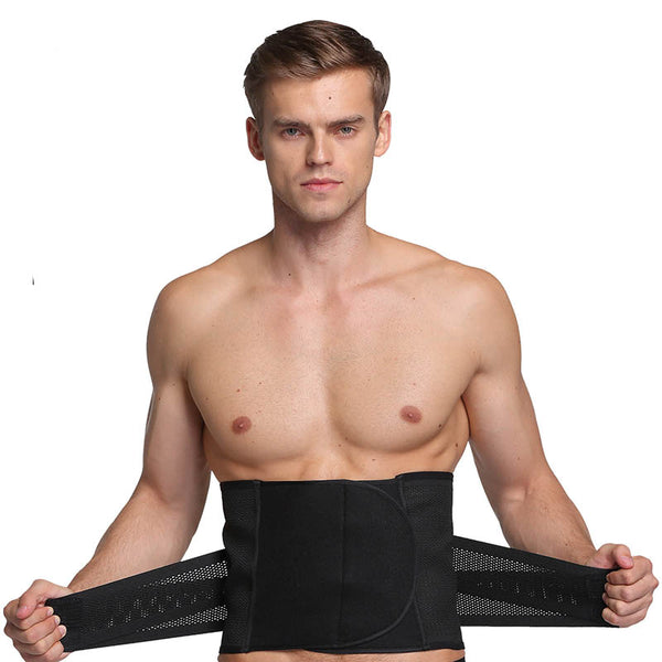 Velcro Stretch Men's Hollow Abdomen Belt