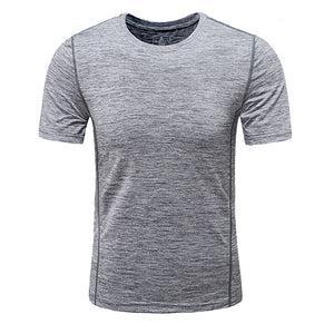 Men's Casual Quick-drying Slim Fit Short Sleeve T-shirt