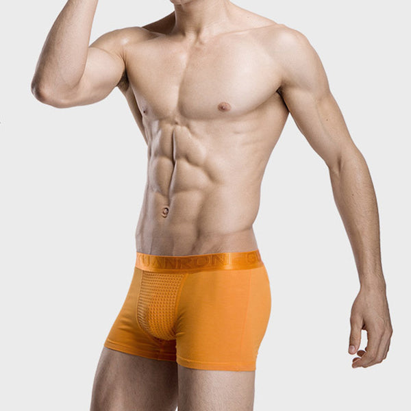 Men's Magnetic Therapy Boxer Briefs Sexy Breathable Underwear