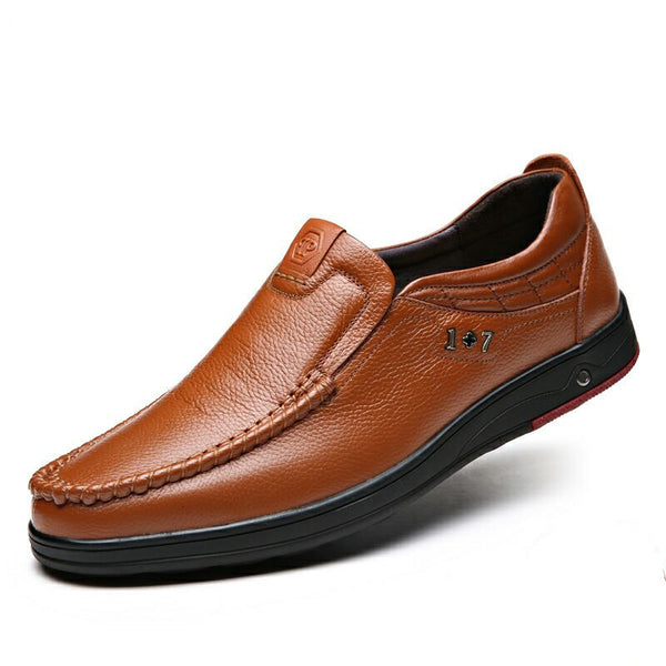Men's Slip-on Genuine Leather Formal Shoes