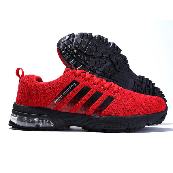 Men's Breathable Weave Casual Sneakers