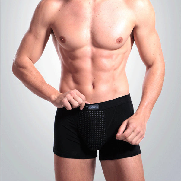 Men's 36 Magnets Breathable Magnetotherapy Healthcare U Convex Boxer Briefs