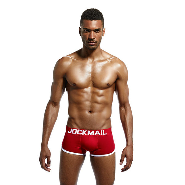 Men's U Convex Cotton Comfort Briefs with Underwear Padding
