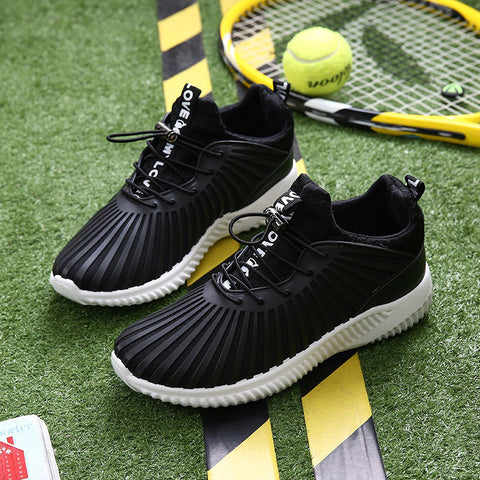 Breathable Flat Heel Cloth Sport Sneakers