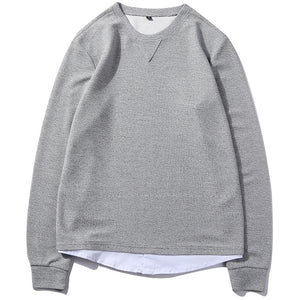 Men's Casual Solid Color Long Sleeve T-Shirts