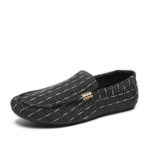 Men's Casual Canvas Slip on Shoes