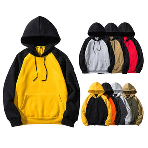 Men's Solid Color Hooded Jacket Multicolor Hoodies 8 Colors