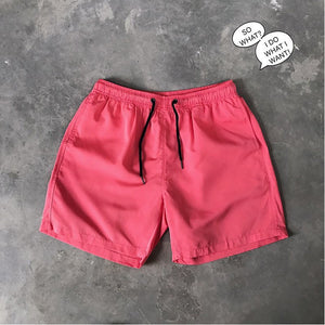 Candy Color Shorts Men's Casual Quick Dry Beach Shorts 10 Colors