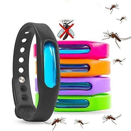 Mosquito Repellent Bracelet Insect Bug Band Wrist Band (5pcs)
