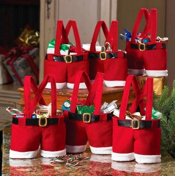Santa Claus Pants Gift Bag! The Best Christmas Gift!