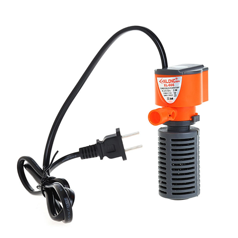 3 In 1 Silent Aquarium Air Pump - Tinklegem.com