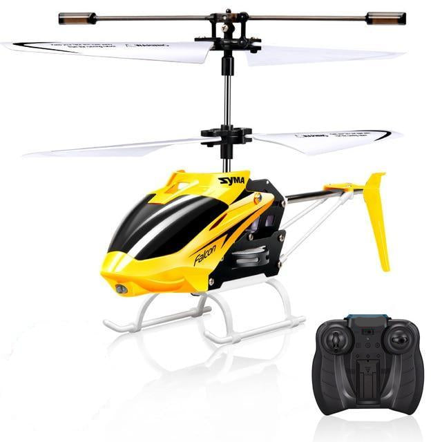 Mini Remote Control Helicopter With Gyro Crash Resistant For Kids - Tinklegem.com