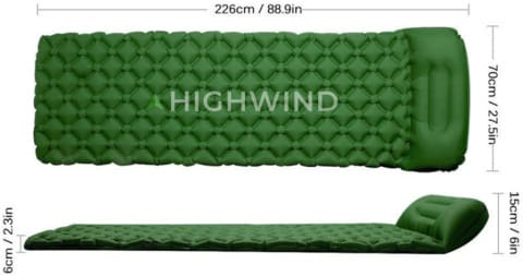 SleepEasy Outdoor Inflatable Mat