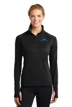 Load image into Gallery viewer, Ladies Sport Tek  Sport-Wick Stretch Pull Over W/ Thumbholes
