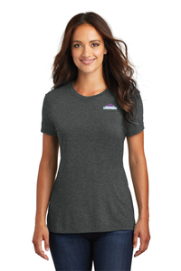 Triblend Tee Crew Neck Ladies Cut