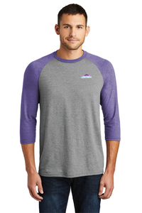 Triblend Tee Mens 3/4 Sleeve