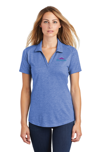 LST405 Ladies Sport-Tek PosiCharge Tri-Blend Wicking Polo