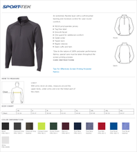 Load image into Gallery viewer, Mens Sport Tek  Sport-Wick Stretch Pull Over