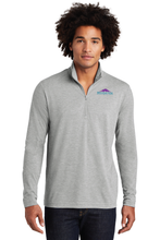 Load image into Gallery viewer, ST407 Mens Sport-Tek PosiCharge Tri-Blend Wicking 1/4-Zip Pullover